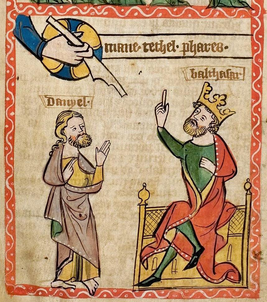 Speculum Darmstadt 2505 69r Menetekel